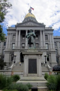 Colorado Civil War Monument, State Capitol, Denver.